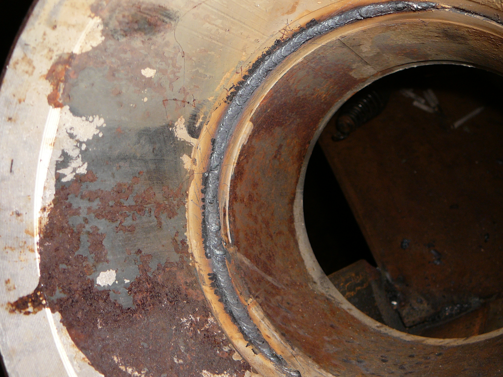 View of the root & Longevity 140 Amp Stick Welder